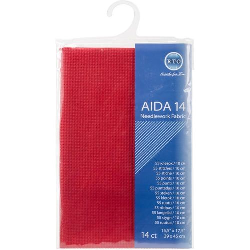 RTO Red Aida 14ct