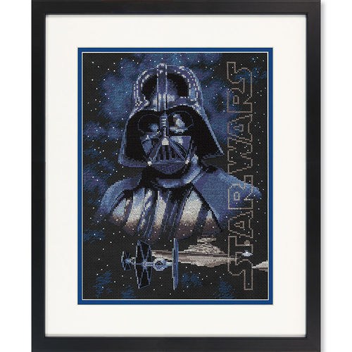 Darth Vader, Cross Stitch Kit