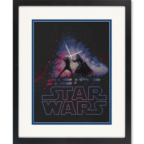 Luke and Darth Vader, Cross Stitch Kit