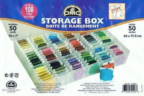 DMC Thread Storage Box