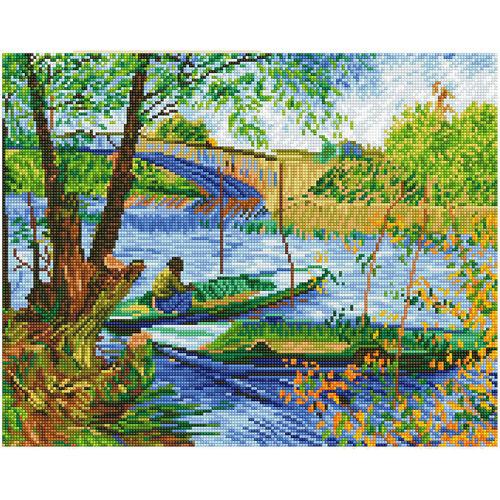 Diamond Dotz Fishing In Spring Van Gogh
